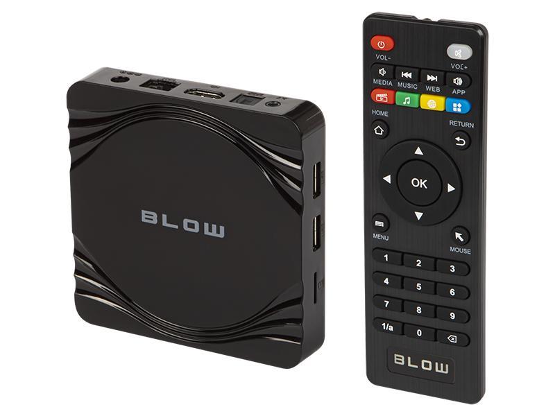 Android TV BOX BLOW Multimediální centrum s podporou 4K